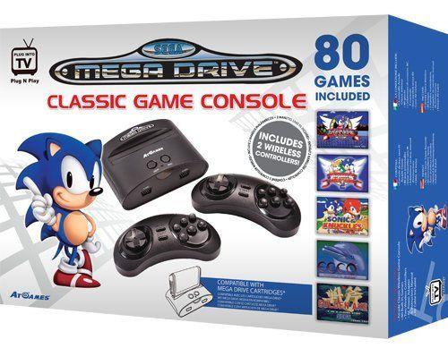 Atgames Sega Genesis Classic Game Console By At Games Http Www Amazon Com Dp B0094h8h7i Ref Cm Sw R Pi Dp Dt Sega Genesis Classic Classic Games Sega Genesis