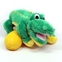 Plush Puppies Egg Babies Alligator Dog Toy Petsmart