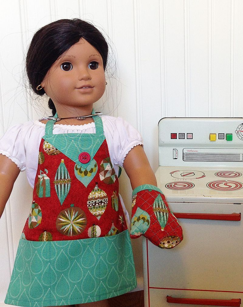 Josephina apron oven sm | Dolls and doll clothes | Pinterest