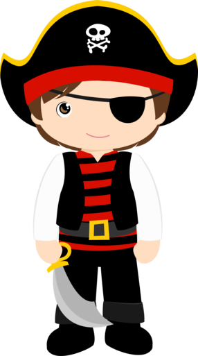 m s imprimibles gratuitos en http www fiestuqueando blogspot com rh pinterest com cute pirate clipart Fun Pirate Clip Art