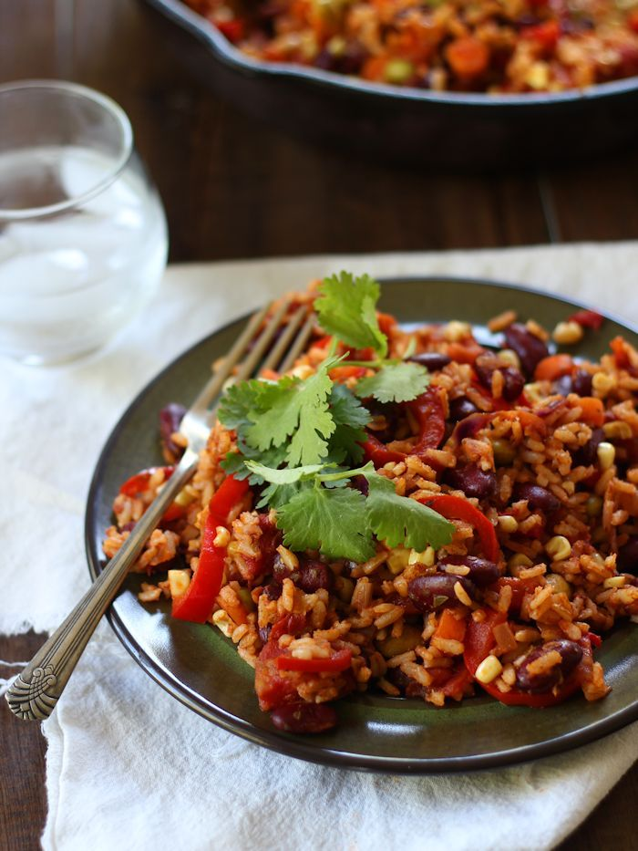 Mexican Kidney Bean Fried Rice From The Easy Vegan Cookbook