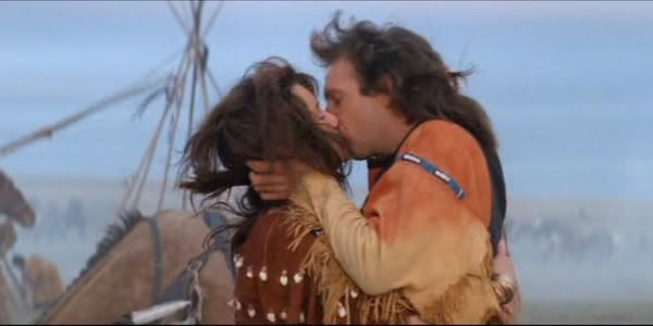 Mary Mcdonnell Kissess Dances With Wolves Mary Mcdonnell