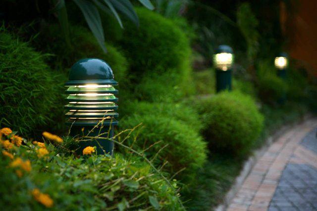 Garden Lights   Outside   Pinterest   Gardens, Dream garden and ...