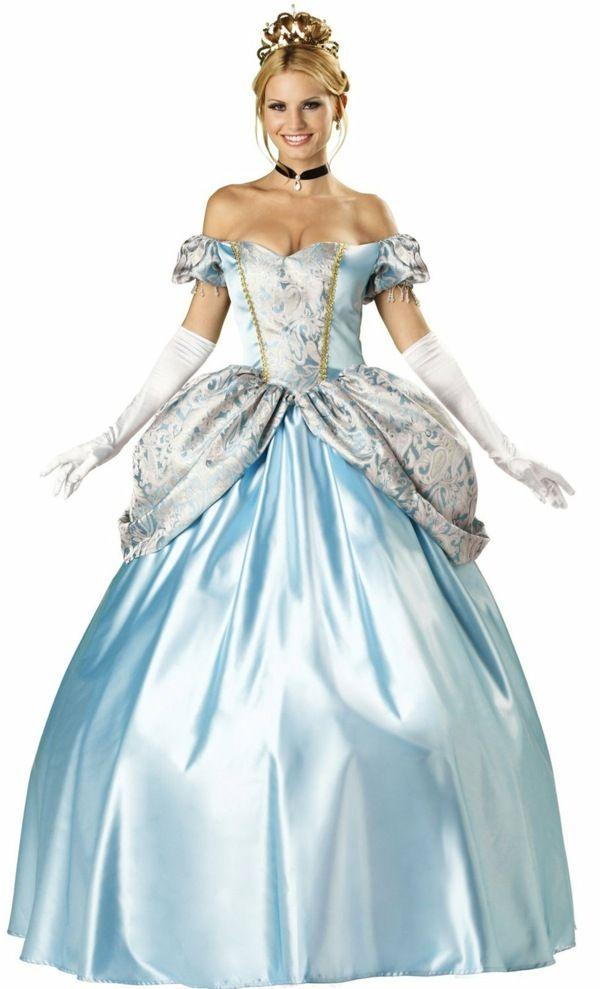 Aschenputtel Kostum Disney Figur Fasching Mottowoche