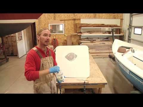 There S A Hole In My Boat How To Apply Gelcoat Boat Boat Building How To Apply