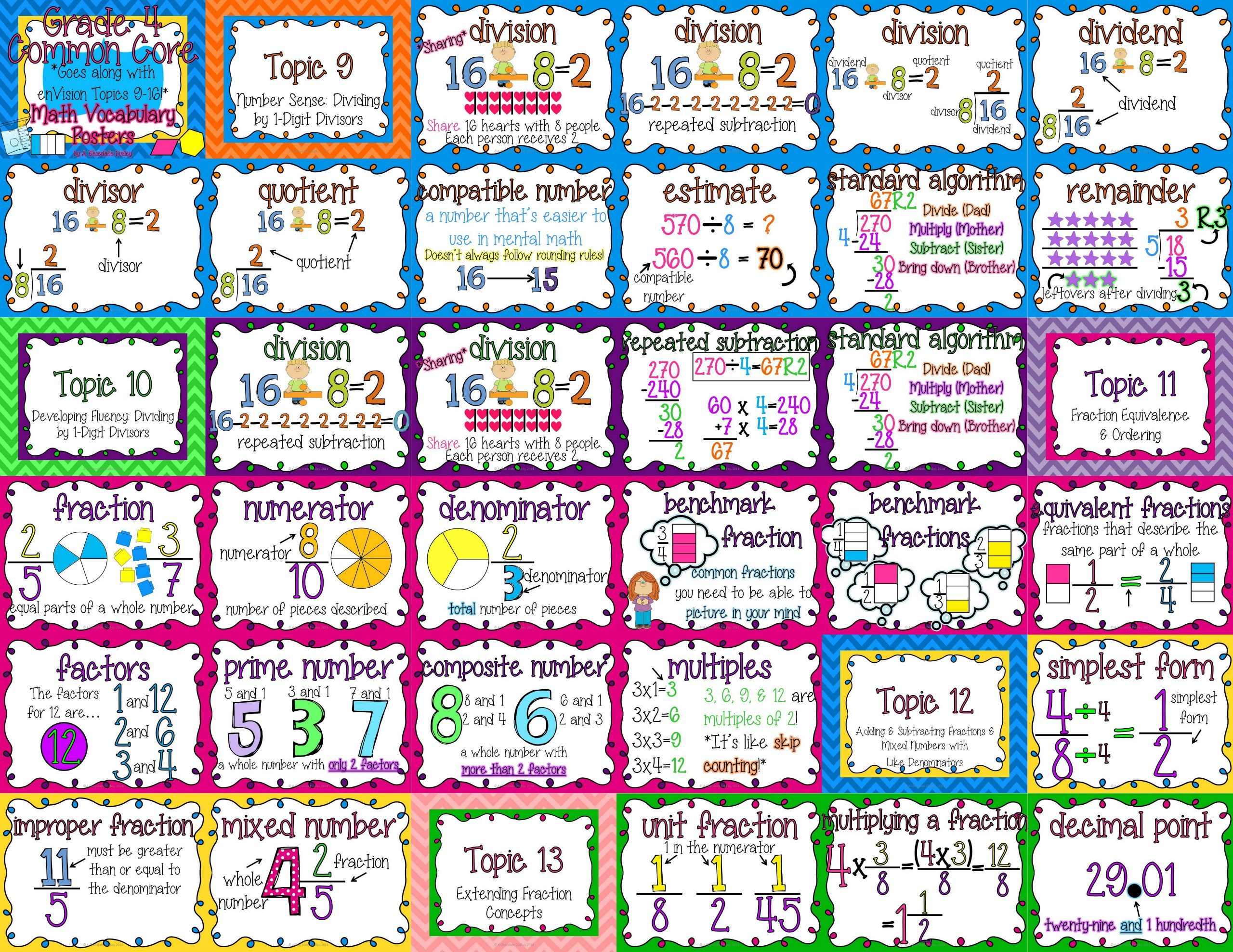 5 Vocabulary Worksheets Second Grade 2 Printable Math Vocabulary Worksheets 5 Math Vocabulary Envision Math Common Core Math [ 1978 x 2560 Pixel ]