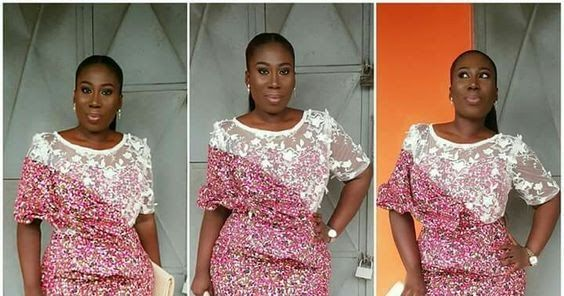 Stunningly Cute Ankara And Lace Combination Styles Short Gown