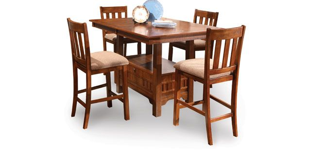 Oak Express Monterrey 5 Pc Dining Set D5 Jfmy Kitchen Dining Furniture Furniture Kitchen Table Settings
