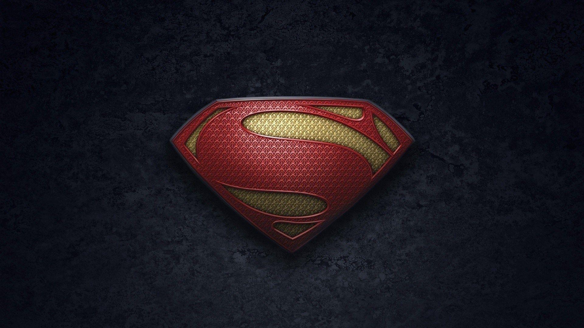 Image For Desktop Man Of Steel With Images Logo Wallpaper Hd