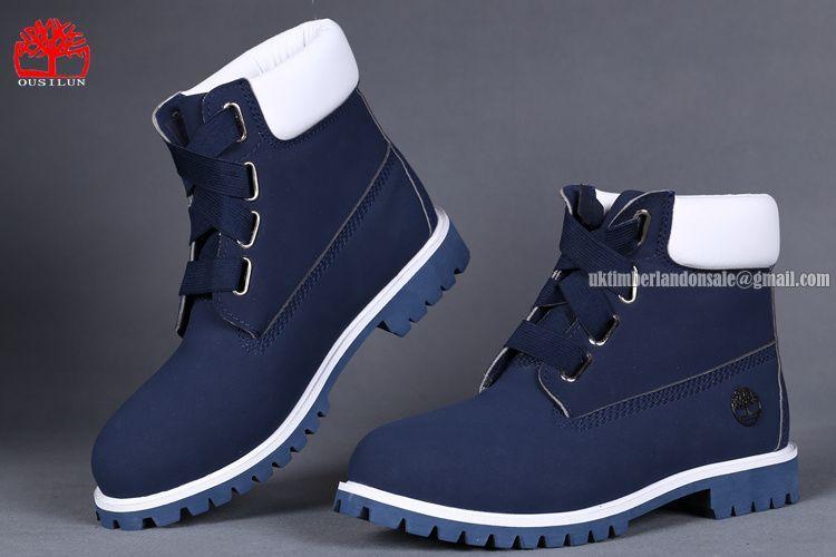 Men's Fashion: Blue Timberland Boots | men shoes | Shoes