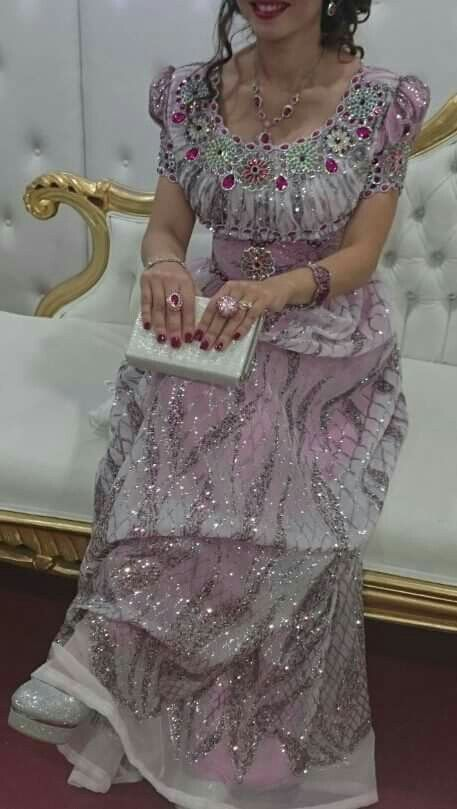 Traditional Oranaise Dress Algerian Robe Blouza E29eHDWIY
