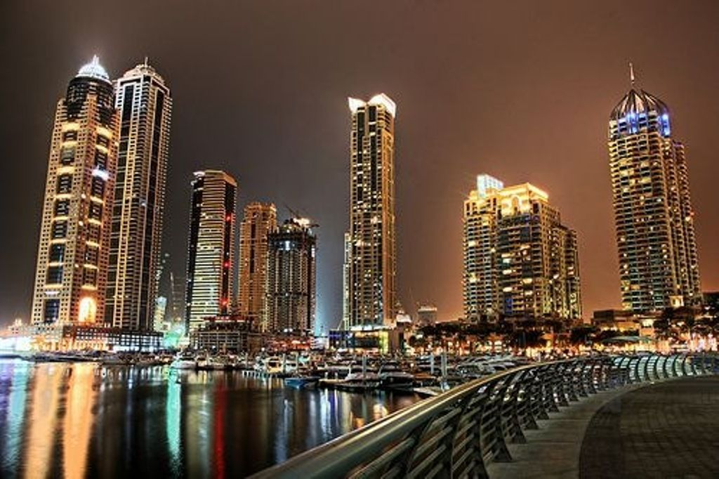 Dubai City At Night Hd Wallpaper Dubai City Dubai Travel Dubai