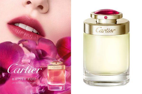 Cartier Floral Fragrance Inspired Baiser Lipstick Fou Scent Warm nOXPZ08wNk