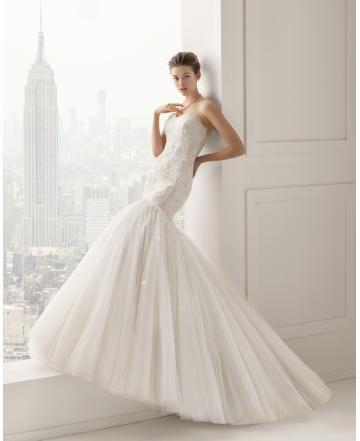 Meerjungfrau Exklusive Außergewöhnliche Brautkleider aus Softnetz ...