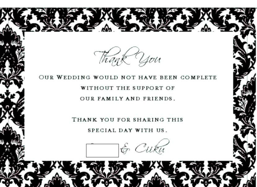 Engagement Gift Thank You Card Message Wedding Ideas Street