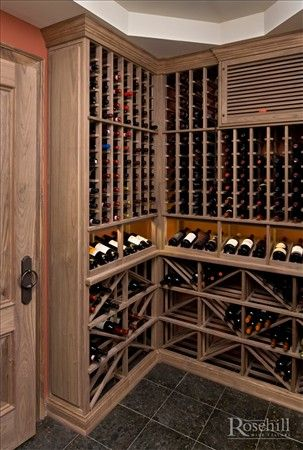 Custom Wine Cellar With A Cooling Unit Grill Cover Cover Is Mart
