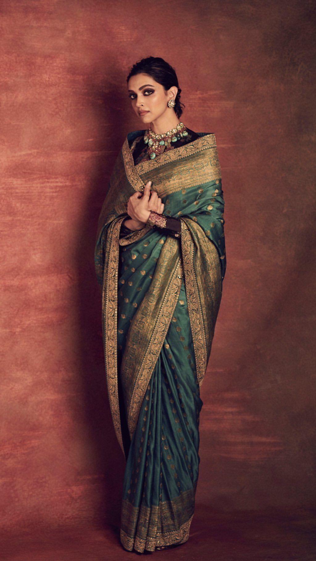 Deepika Padukone in 2020 | Indian saree blouses designs ...