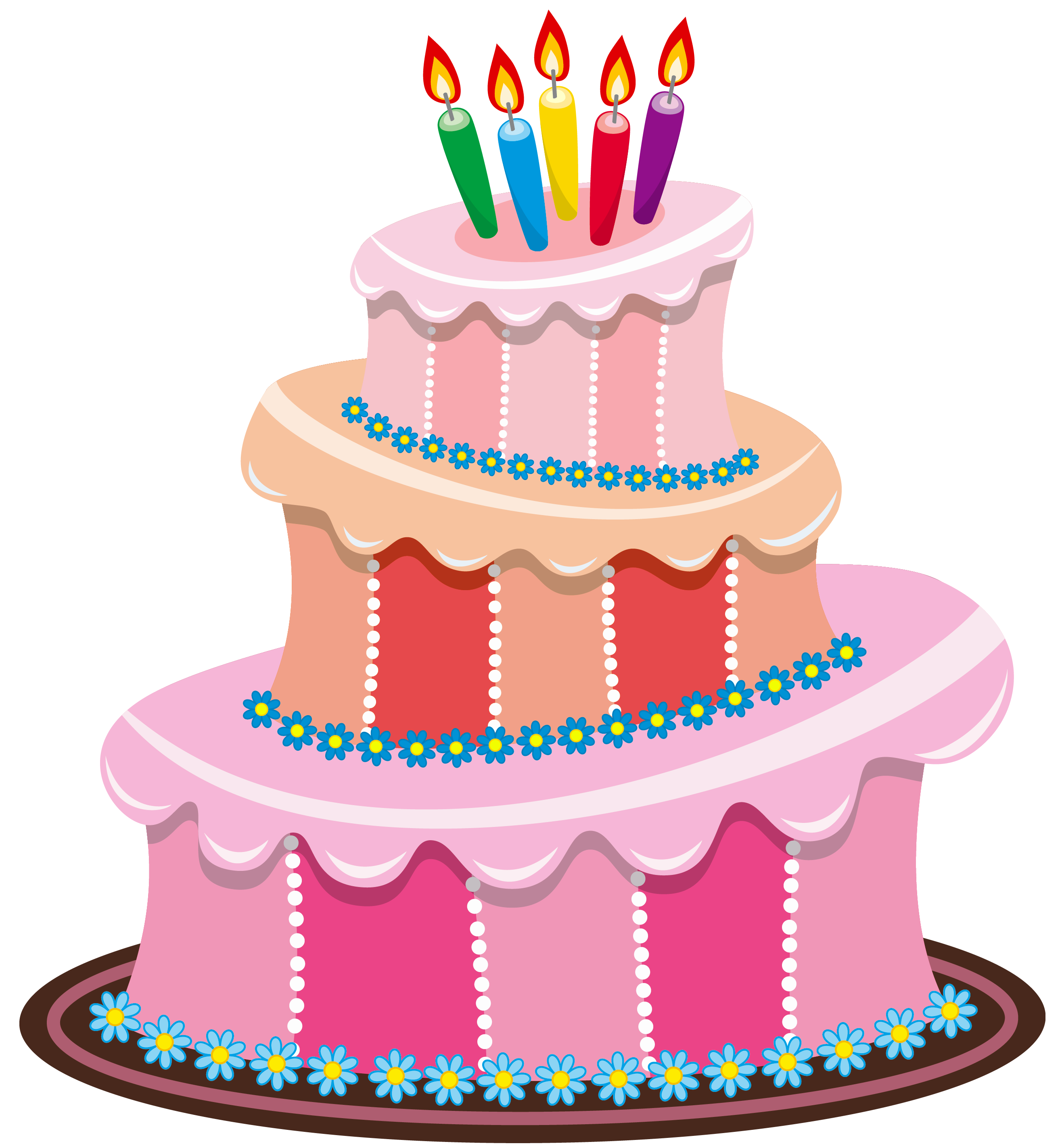 Pink Birthday Cake PNG Clipart Happy bday Pinterest ...