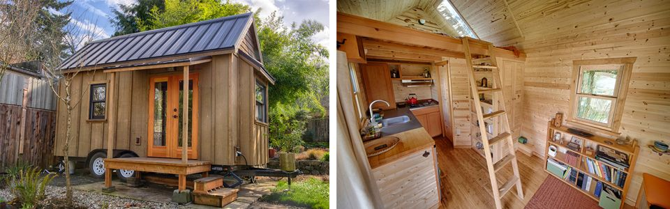 These  Tiny House Plans Will Build Your EcoFriendly Dream Home - Tiny house design portland