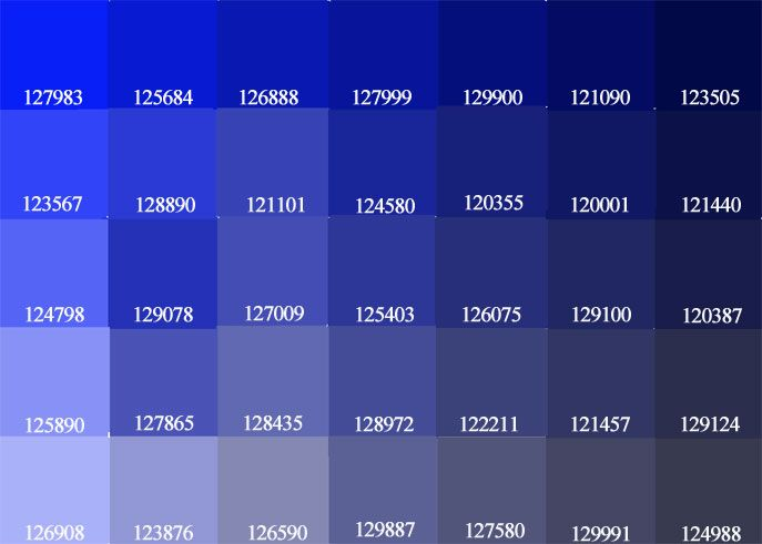Blue Paint Shades Exceline Paints Blue Purple Color Palette