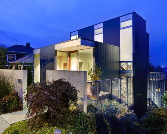 Stunning contemporary home architecture design beautiful exterior modern stair house small garden also best wood and concrete images on pinterest rh