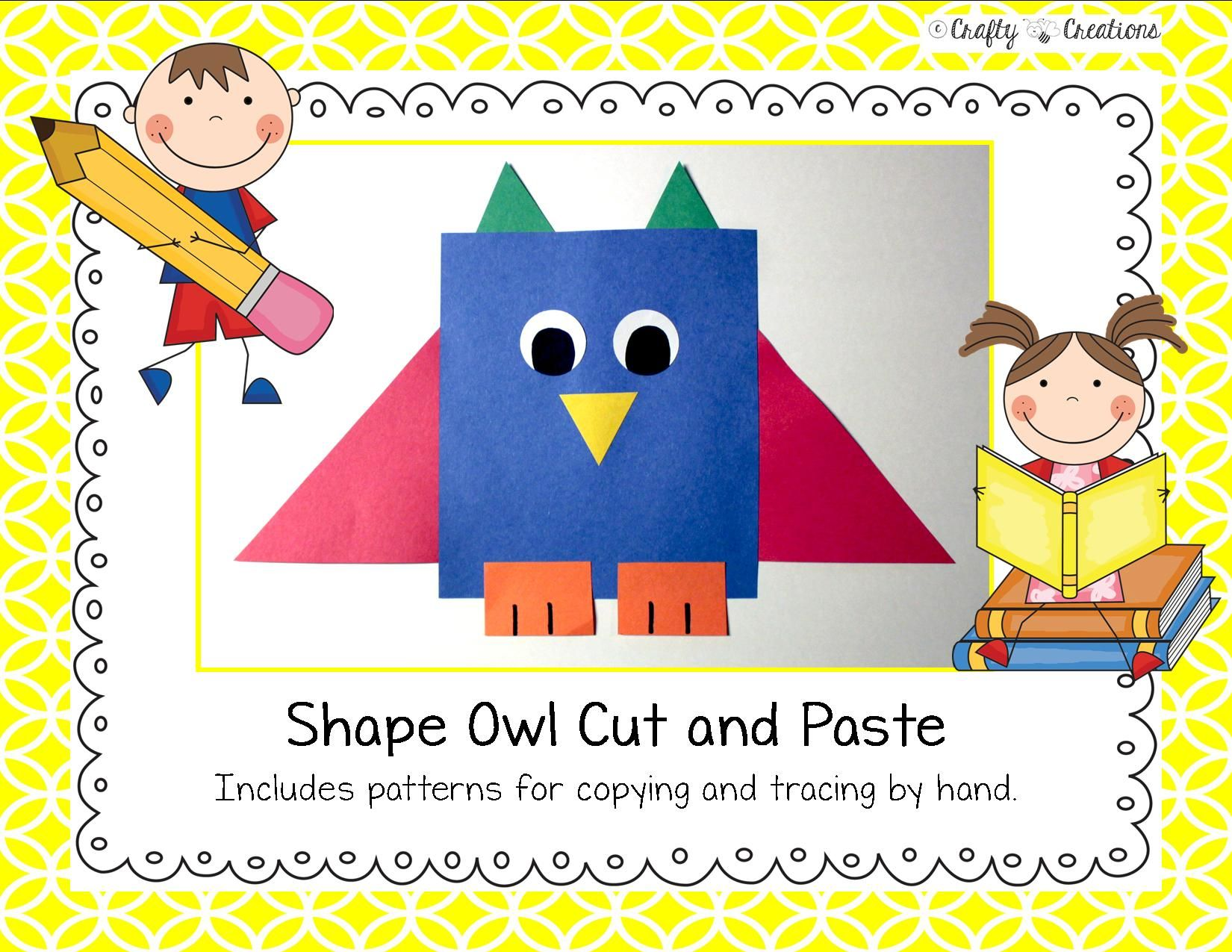 Shape Craft Owl