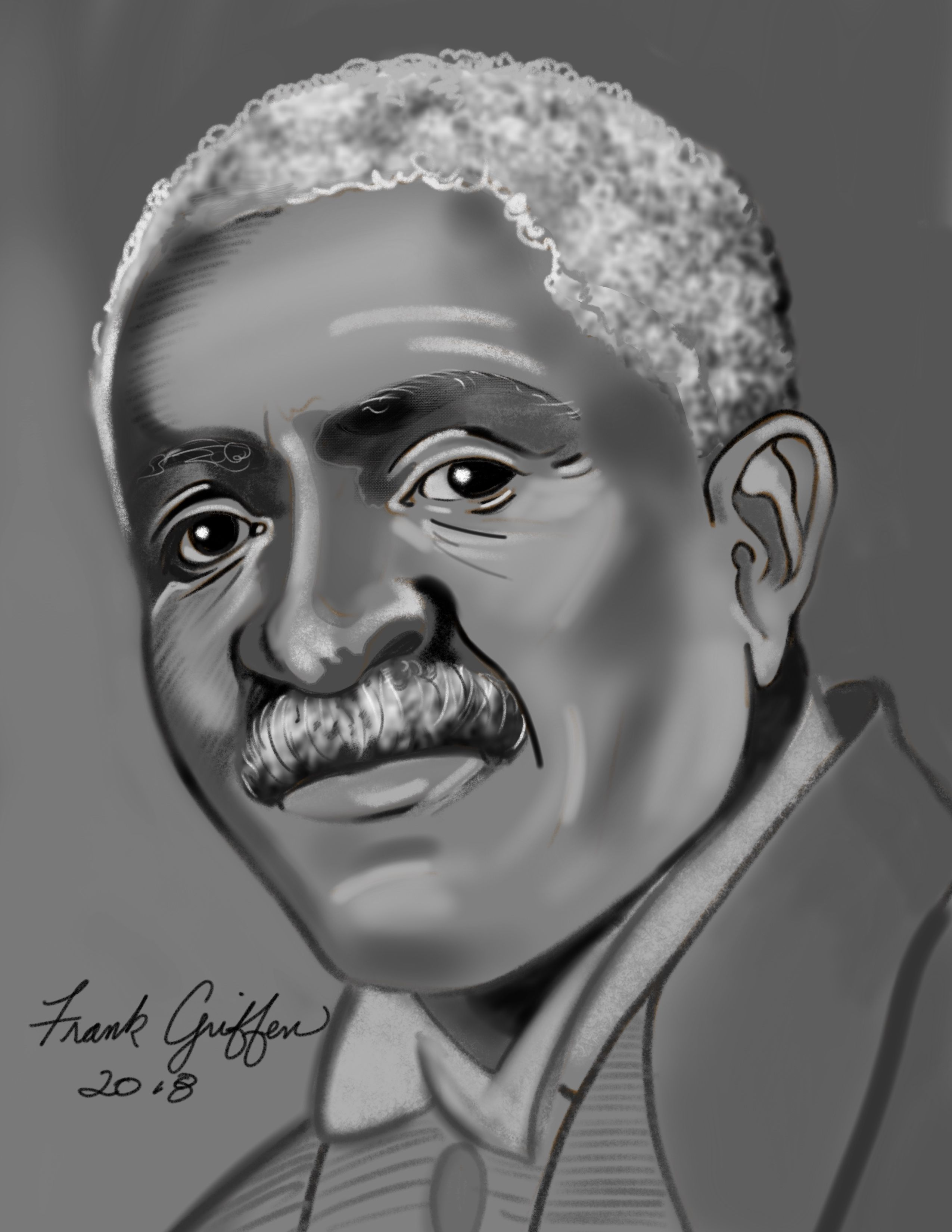 George Washington Carver Drawing To Accompany The