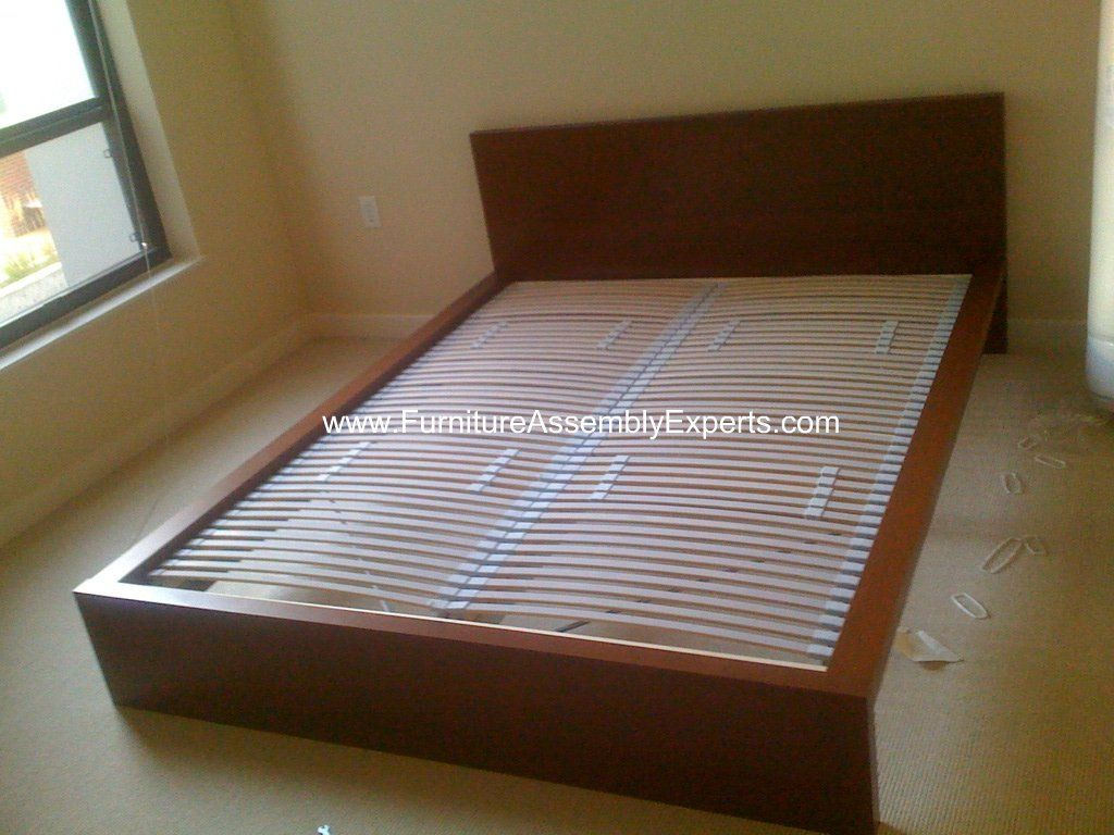 Ikea Malm Bed Frames Sultan Laxery Slat Assembled In The Allegro