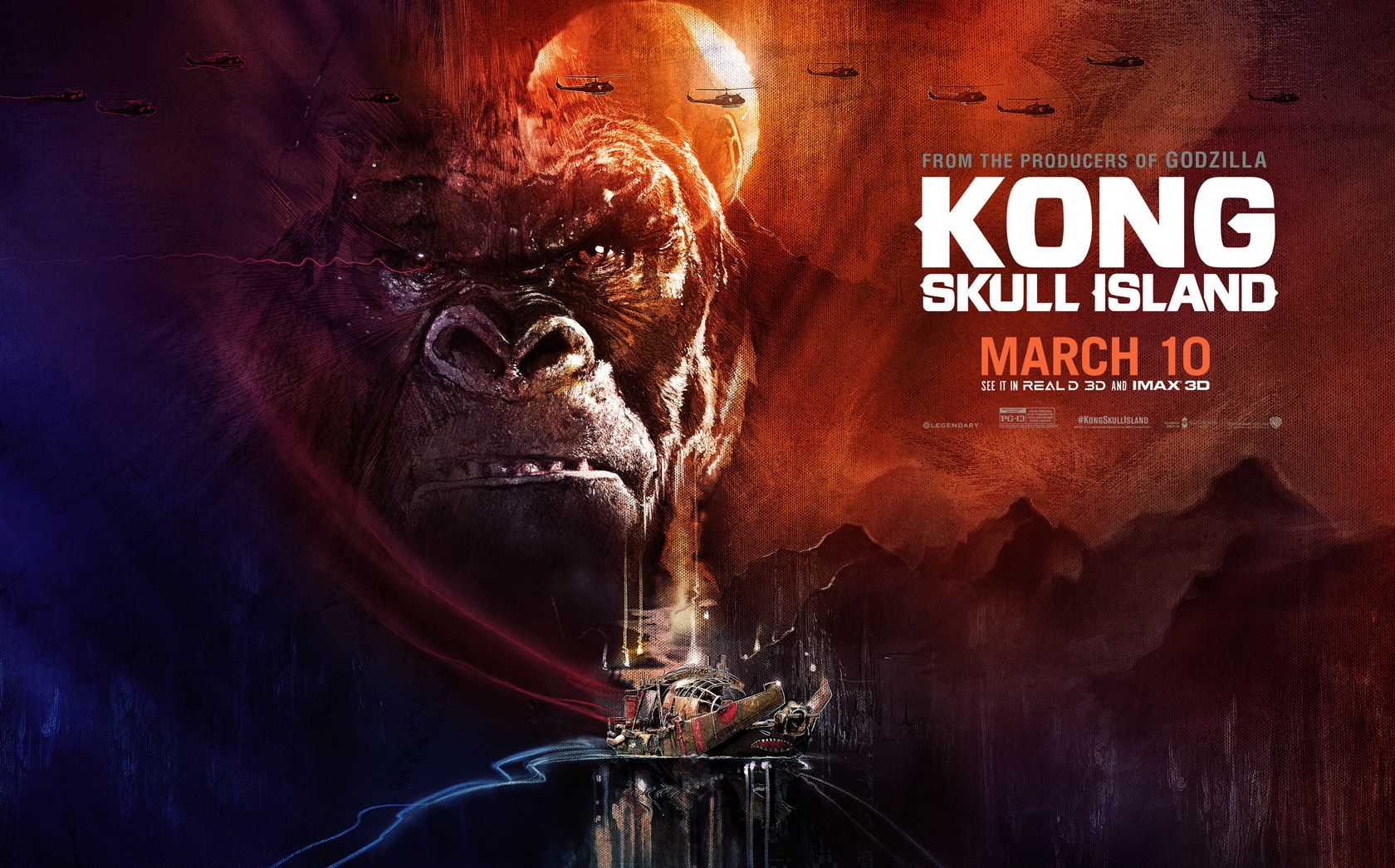 Poster design online free download - Watch Kong Skull Island 2017 Streaming Online For Free Download Digital