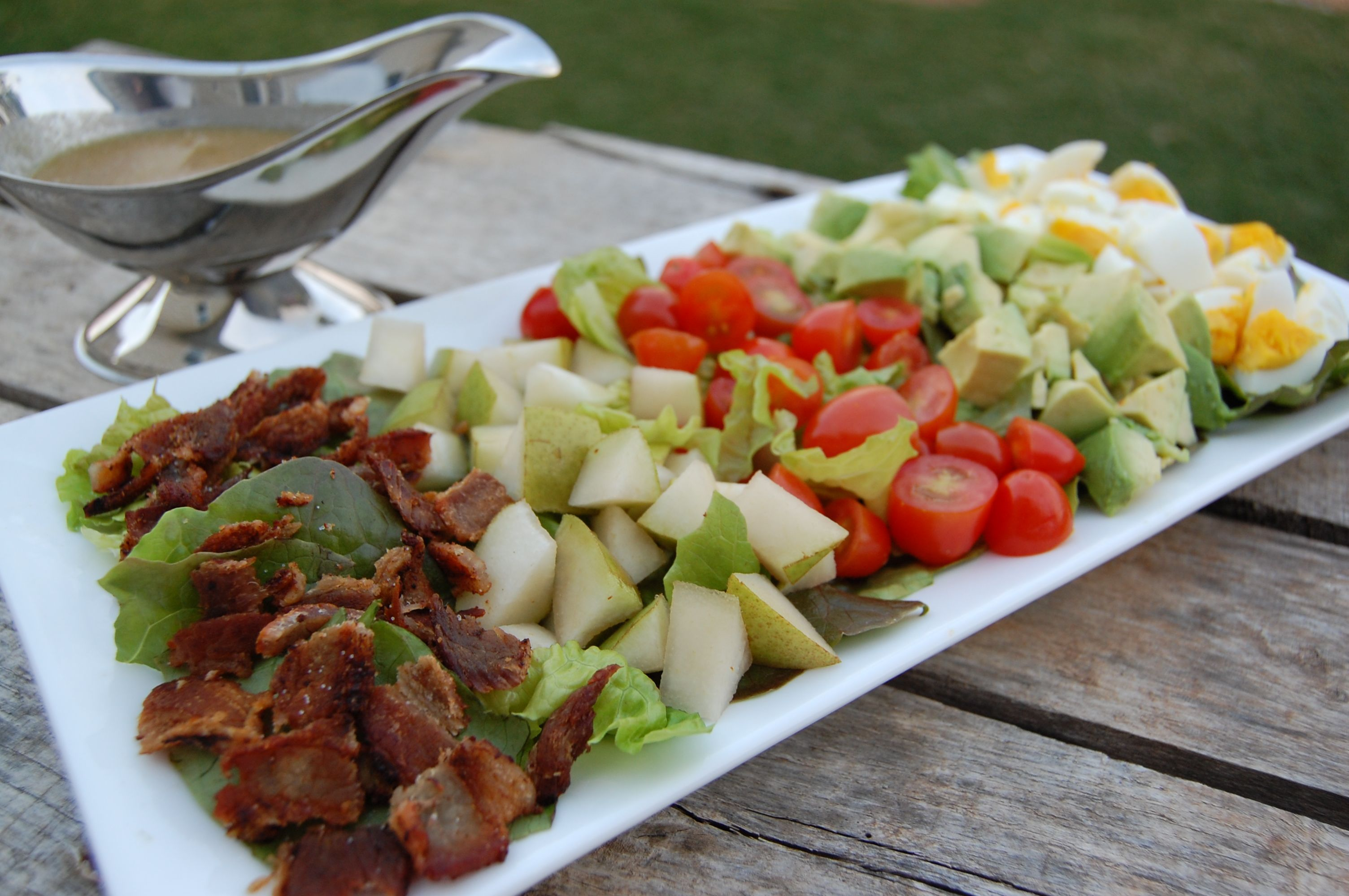 Recipe: Cobb Salad with Blue Cheese Dressing