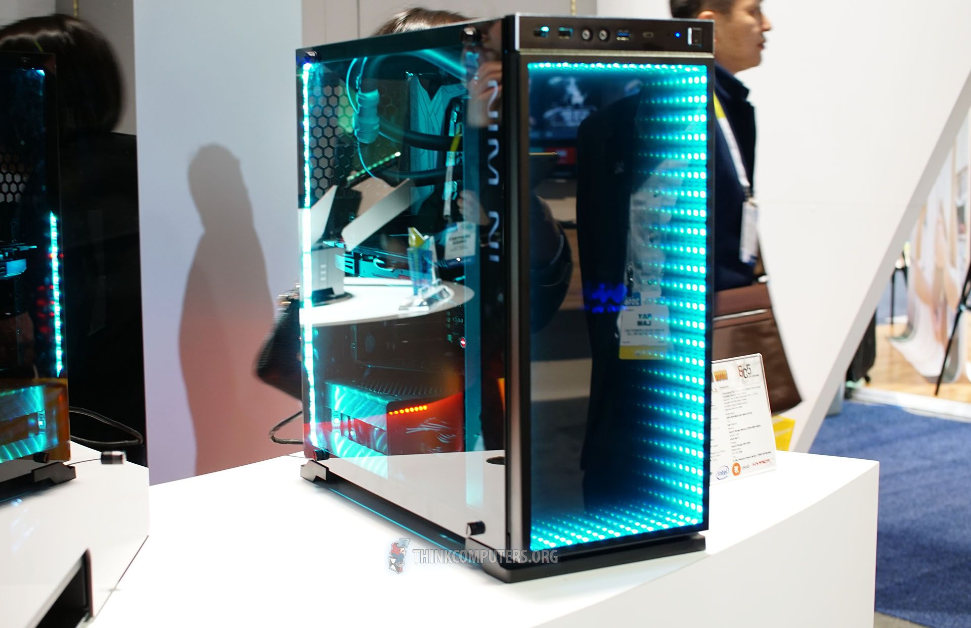 The World First Saw The In Win 805 At Computex This Past