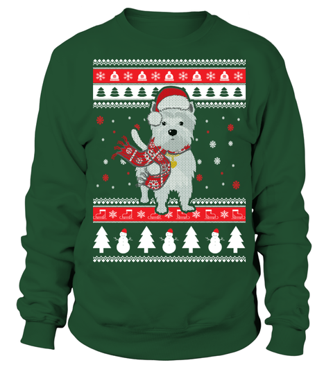 westie ugly christmas sweater teezily buy create sell t shirts to - Griswold Ugly Christmas Sweater