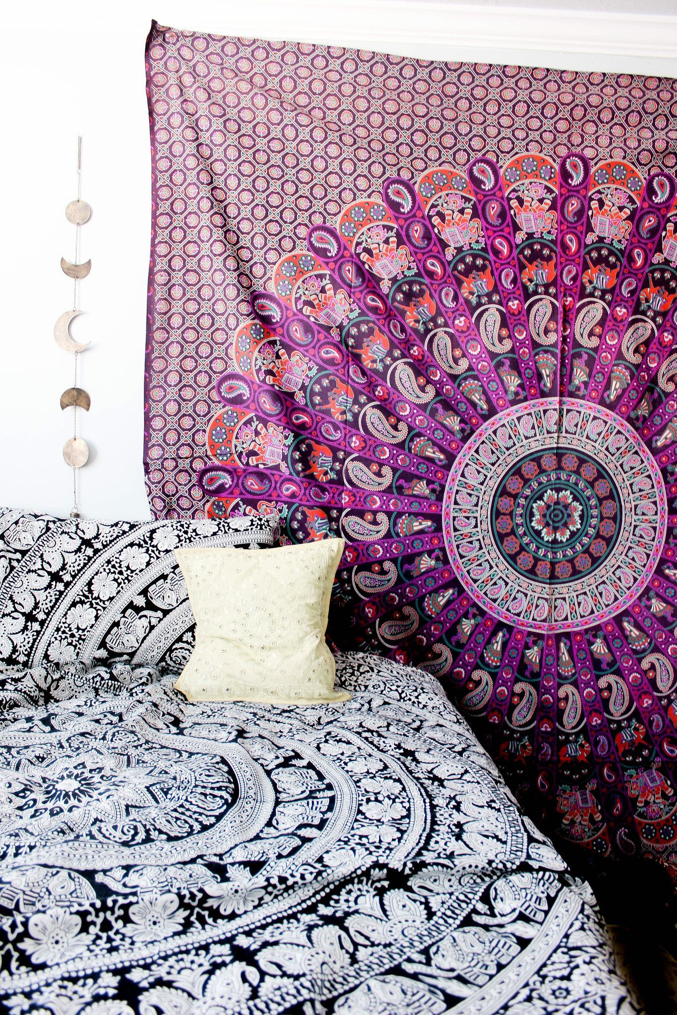 Bewitched Mandala Tapestry