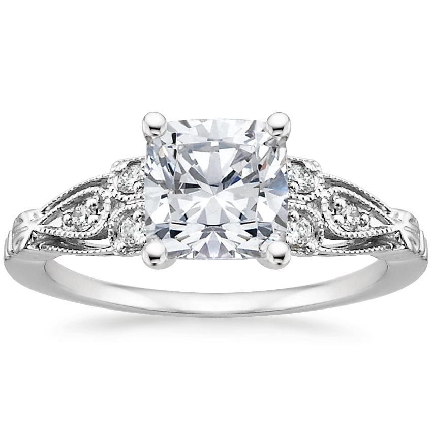 18K White Gold Rosabel Diamond Ring from Brilliant Earth ...