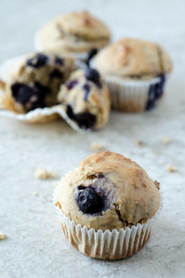 Easy And Effortless Vegan Blueberry Muffins Veganrecipes