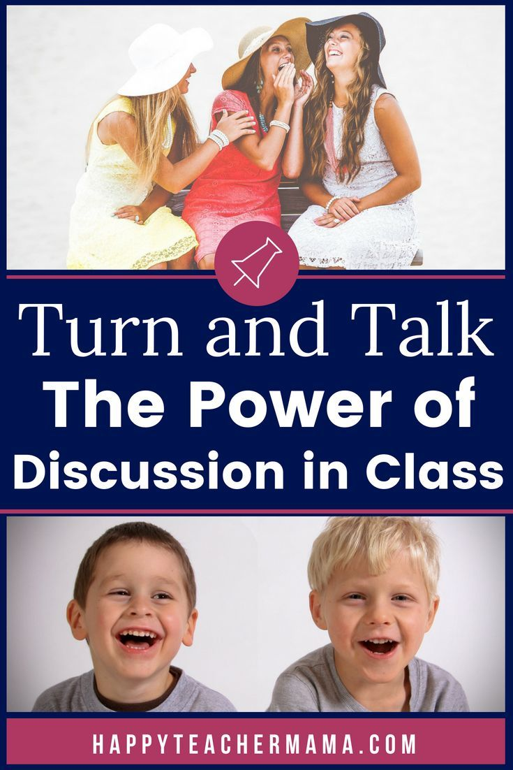 Turn and Talk Where the Magic Happens Do you encourage talking during school? If youre like most