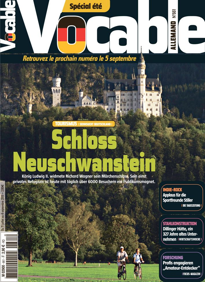 Vocable Allemand N 661 Du 11 07 13 Abonnement Magazine Allemand Magazine