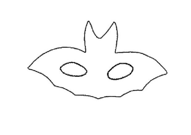 BAT mask Homemade face masks Pinterest Bat mask, Homemade face - paper face mask template