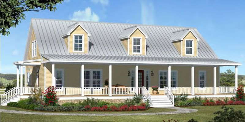 Texas farmhouse homes post oak farmhouse houses for Texas farmhouse plans