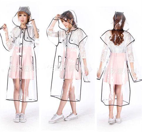 Transparent Raincoat  https://www.storenvy.com/products/16121442-chubasquero-transparente-transparent-raincoat-wh023