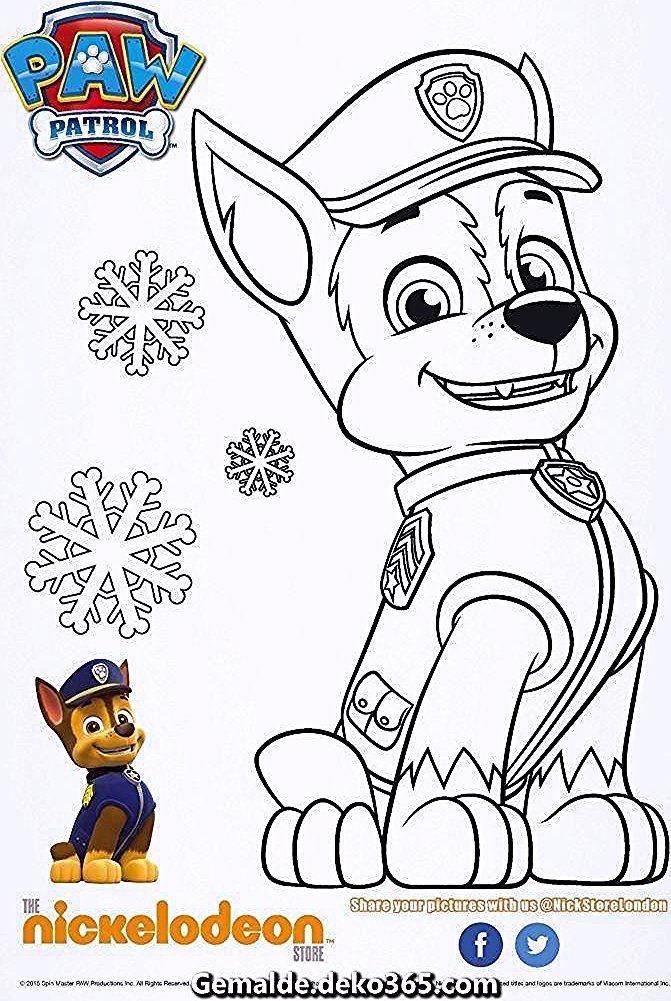 Grossartige Chase Coloring Patrol Ausmalbilder Chase Childcrafts Patrol Ausmalbilder In 2020 Paw Patrol Coloring Paw Patrol Christmas Paw Patrol Coloring Pages