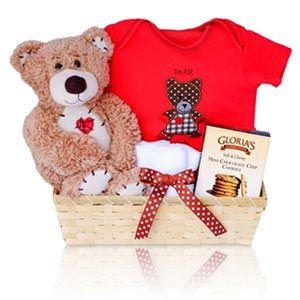 Personalized baby bear hugs gift basket corner stork baby gifts personalized baby bear hugs gift basket corner stork baby gifts negle Images