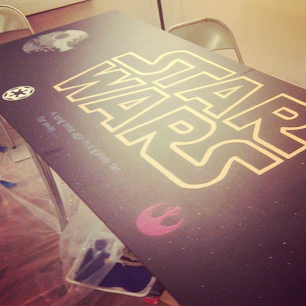 Beer Pong Tables | Star Wars | Beer pong tables, Beer pong ...