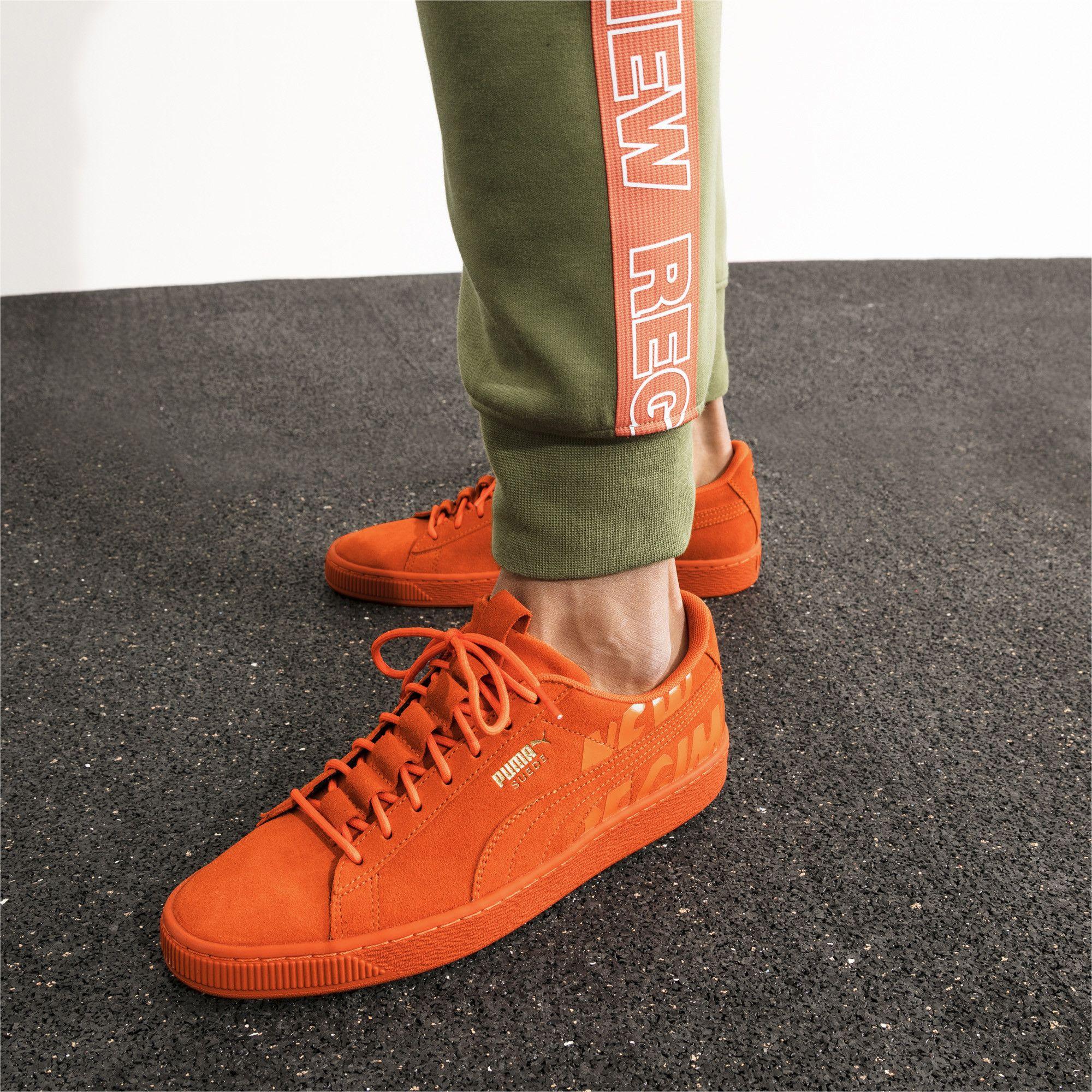Suede sneakers, Puma shoes women