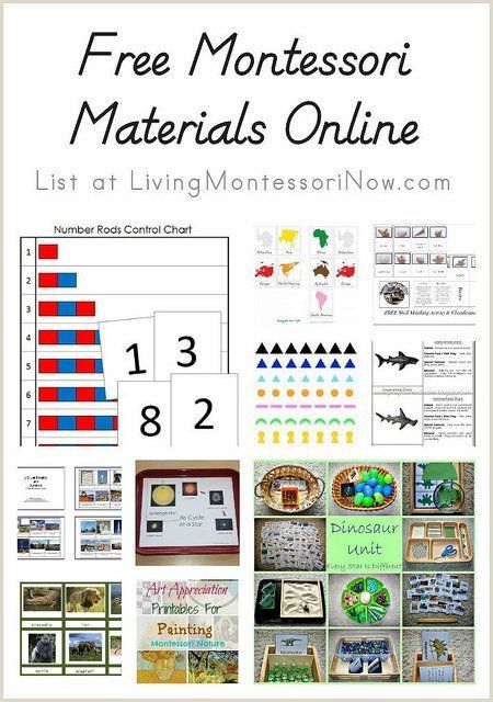 Blog Post At Livingmontessorinow How I Would Have Loved These Resources During My Years Teaching In Montessori Schools Or Own Homeschool