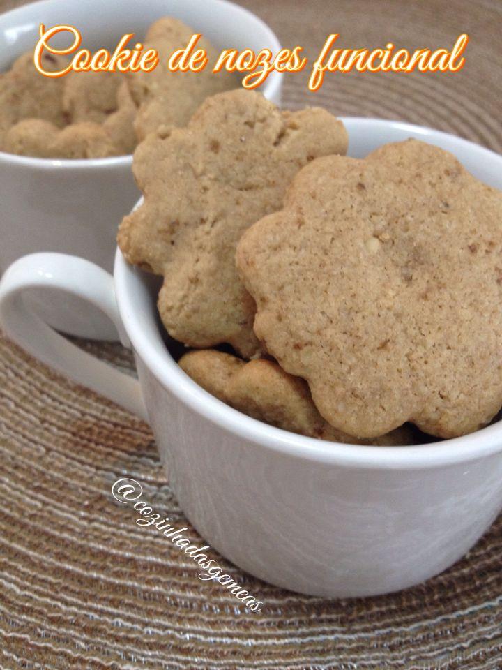 Cookie fit de nozes! Bom demais! Peça o seu! Cozinhadasgemeas@gmail.com