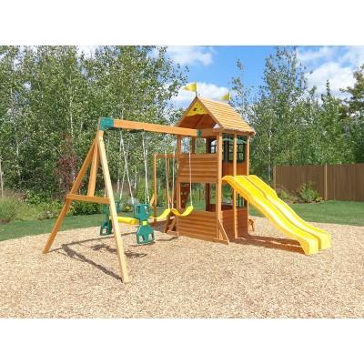 Cedar Summit Ryerson Play Swing Set By Kidkraft Products