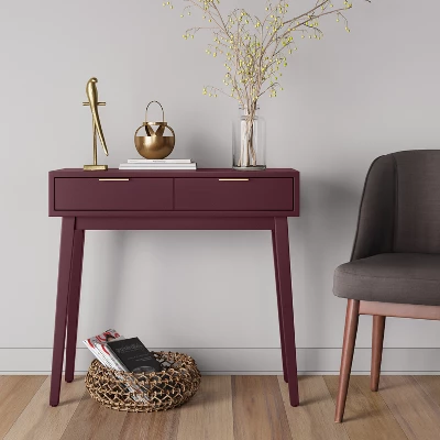 Hafley Three Drawer End Table Project 62 Target Desks For Small Spaces Home Decor Furniture