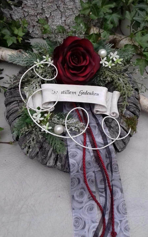 Photo of GRAB STECKEL GRABSCHMUCK ALL-HOLIGS Dead Sunday wreath rose tape 26cm -…