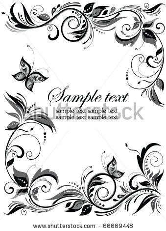Wedding Invitation Border Reference Wedding Decoration Floral Border Wedding Invitations Borders Wedding Borders
